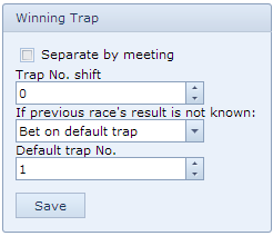 winning-trap-selection